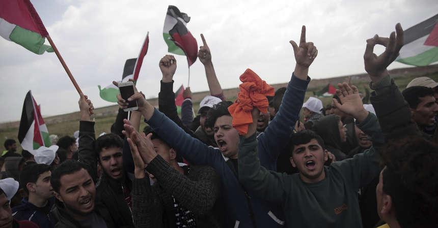 Gaza, scontri per apertura ambasciata Usa a Gerusalemme.