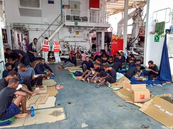 Diciotti: migranti chiedono risarcimento a Italia