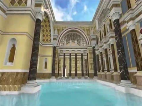 Rivivono in 3D le Terme di Diocleziano
