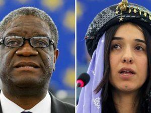 Il Premio Nobel per la Pace 2018 va al medico e attivista congolese Denis Mukwege e all'attivista yazida Nadia Murad