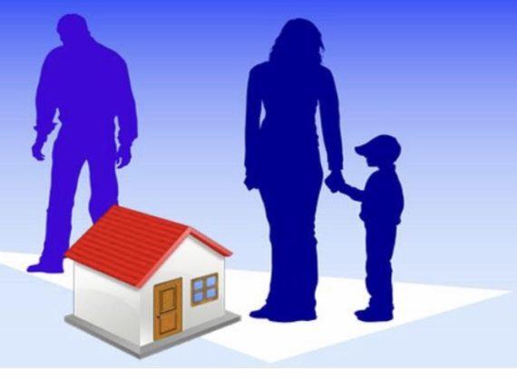 In caso di separazione la casa resta al figlio