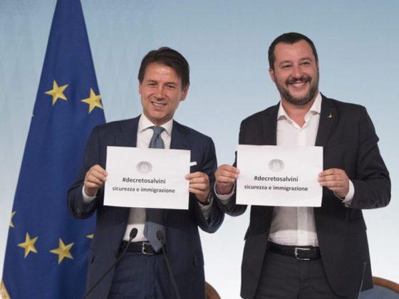 Salvini-Conte-passa-dl-sicurezza