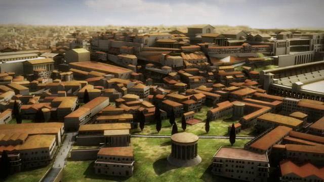 Rome Reborn, l'antica città rinasce