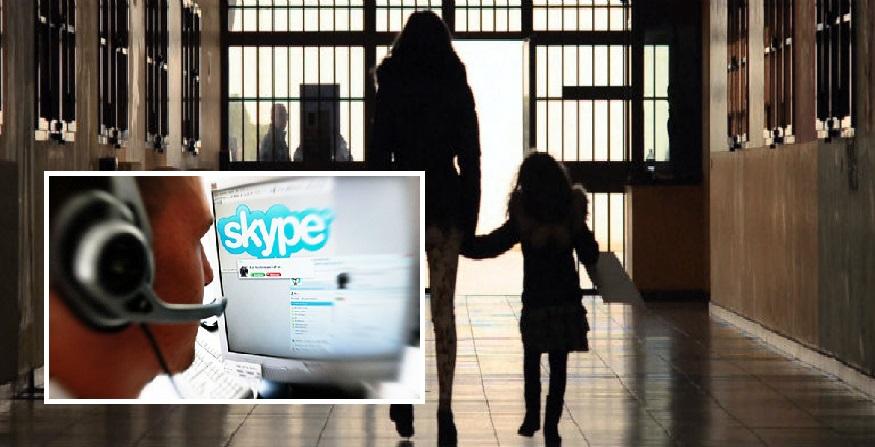 Rivoluzione nelle carceri: arriva Skype per colloqui con familiari
