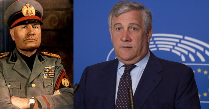 Tajani: da antifascista dico che bisogna essere obiettivi con la storia