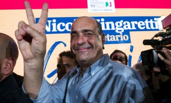 Zingaretti, parte un nuovo partito