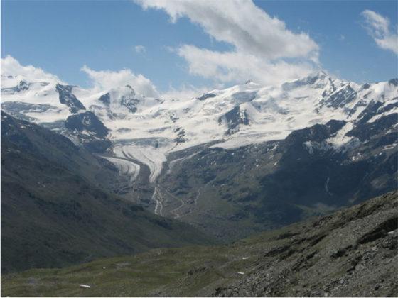Microplastiche anche sui ghiacciai