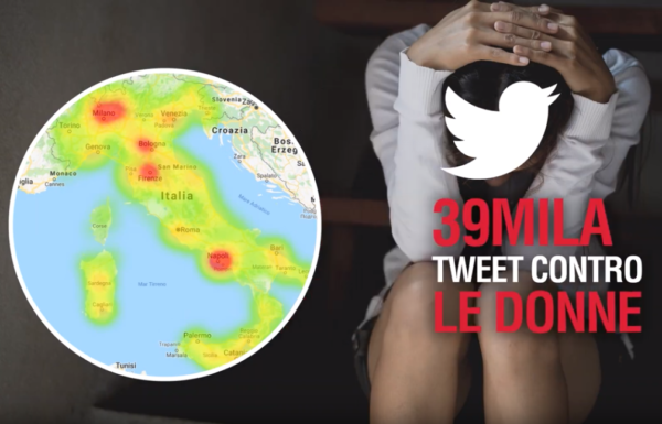 Tweet contro le donne