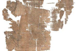 papiro lettera testimonianza primi cristiani