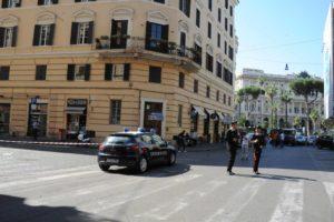 Via Cossa ucciso carabiniere