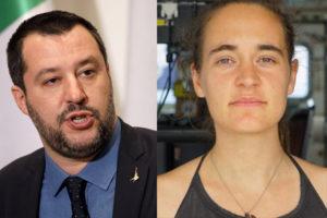 Salvini e Carola
