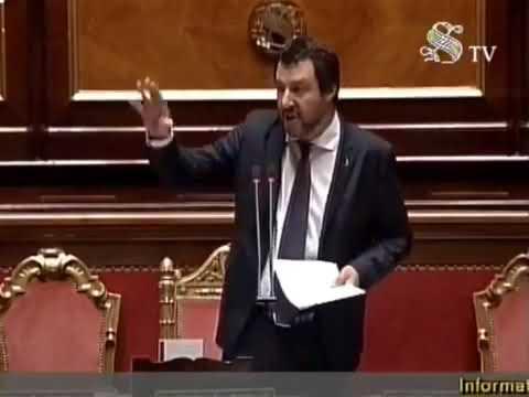 Replica Salvini conte