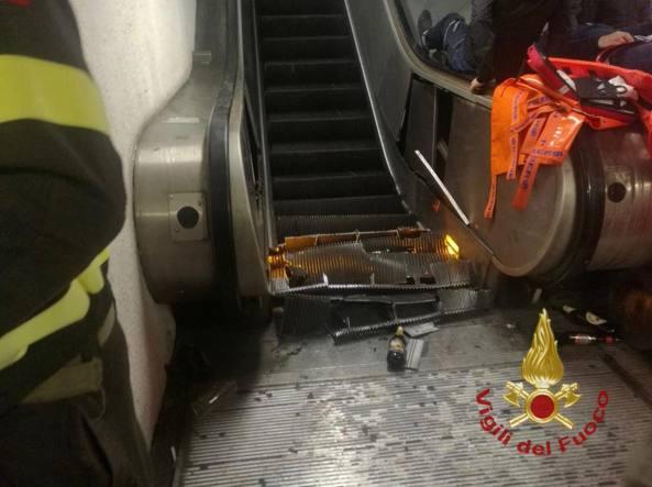 Metro Roma, dipendenti indagati per scale mobili rotte
