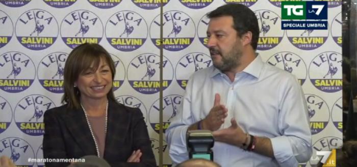 Regionali, l'Umbria decreta il flop dell'alleanza giallo-rossa
