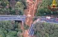 L'Italia crolla: in Piemonte giù viadotto A6. Voragine su A21