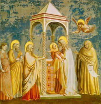 Presentazione Gesù al tempio