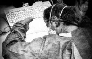 infermiera stremata