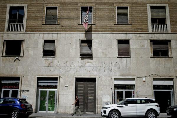 Avviso di sfratto per CasaPound a Roma