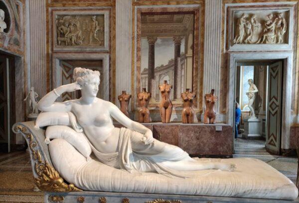Damien Hirst alla Galleria Borghese di Roma